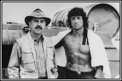 Sylvester Stallone and David Morrell