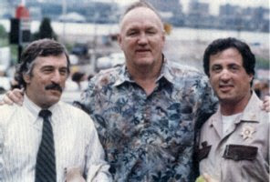 Robert De Niro Chuck Wepner and Sylvester Stallone