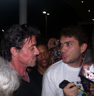Stallone and Osmar - April 2009 - RJ Brazil