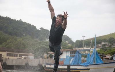 Sylvester Stallone Filmando Os Mercenarios em Mangaratiba