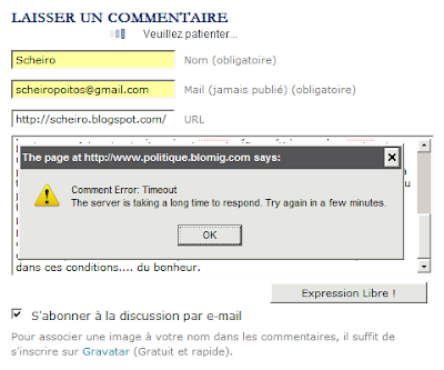 blog commentaire lomig