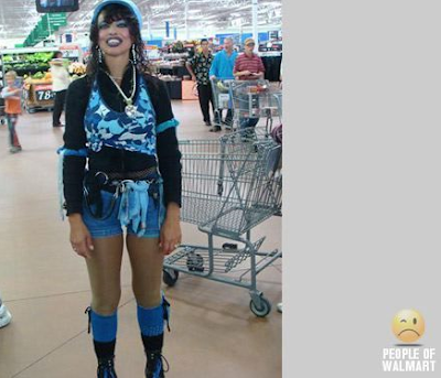 the new Madonna look, Walmart-