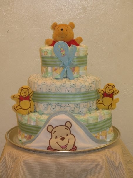 cute and practical baby shower gift the diaper cake