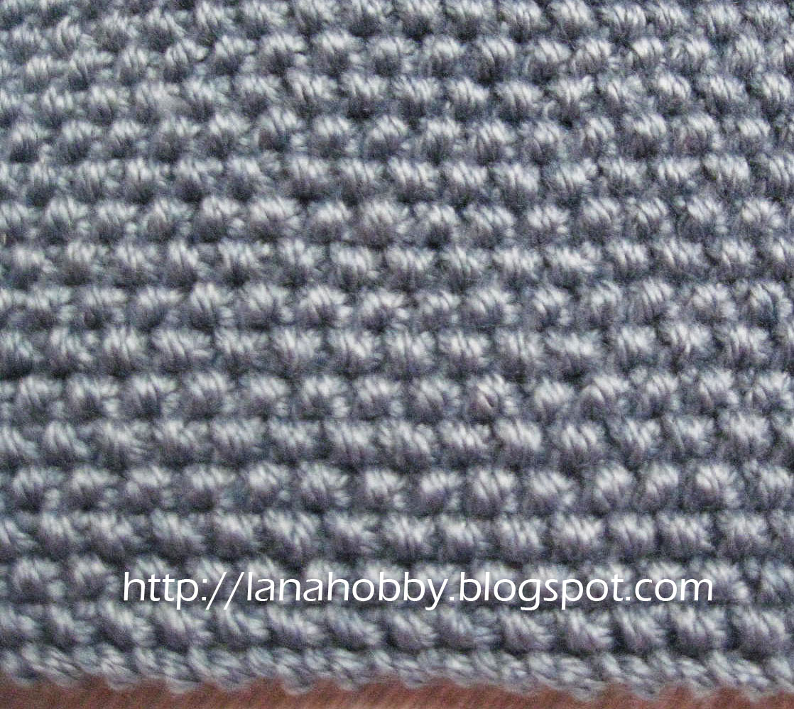 Knitting Moss Stitch How To : Lana creations My knitting work, knit project and free patterns catalogue
