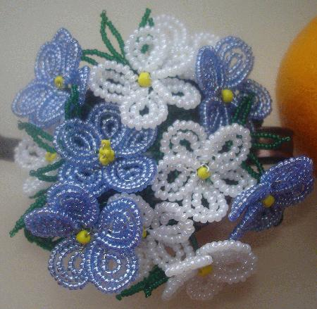 French Beaded Flowers - Squidoo : Welcome to Squidoo