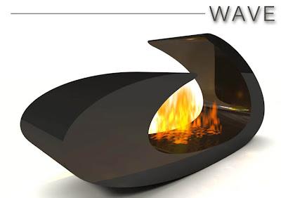 cheminee bio ethanol wave