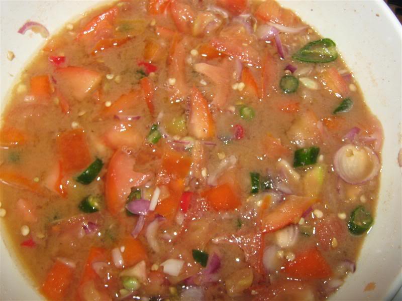 Resepi Air Asam Tomato Ikan Bakar