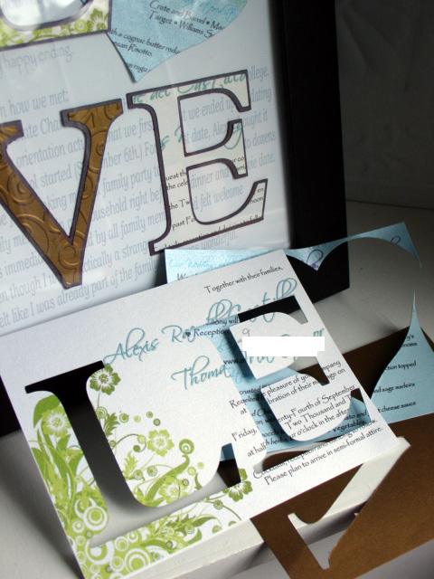 Dili S Blog Using Their Beautiful Wedding Invitation And