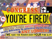 With only an 11% Approval, It's time to give Congress its well-earned PINK SLIP!