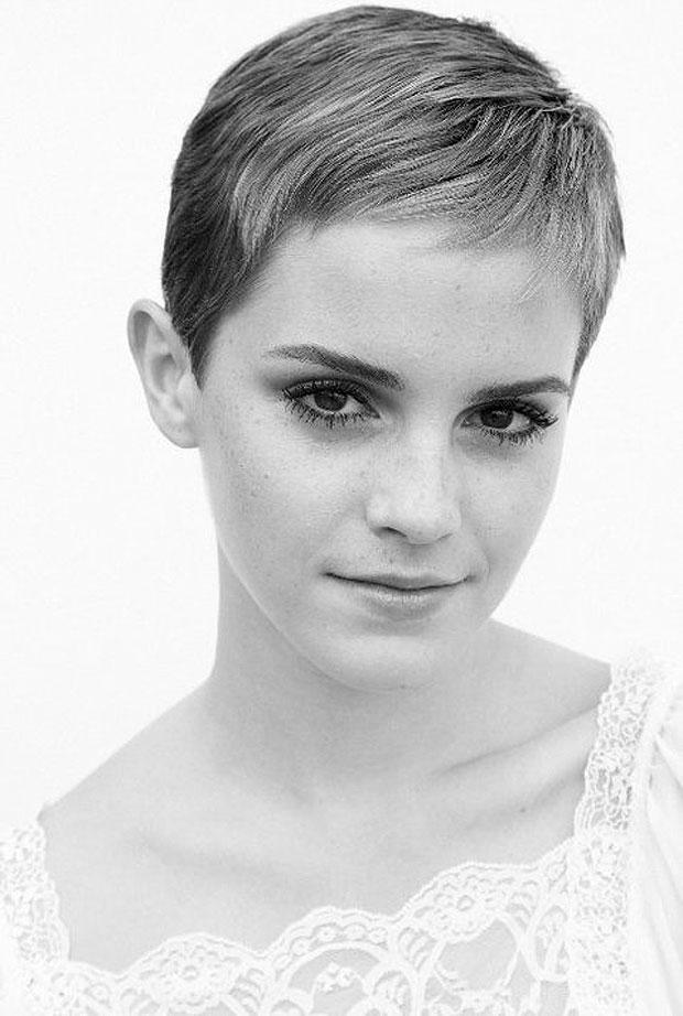 Emma Watson Con Pelo Corto - Emma Watson Famosas con el pelo corto Mujer al día