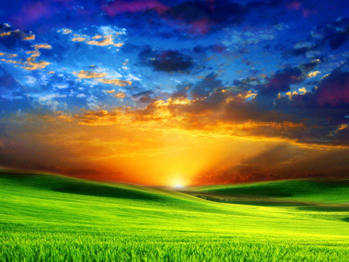 Sun Rise Landscape Desktop Wallpapers