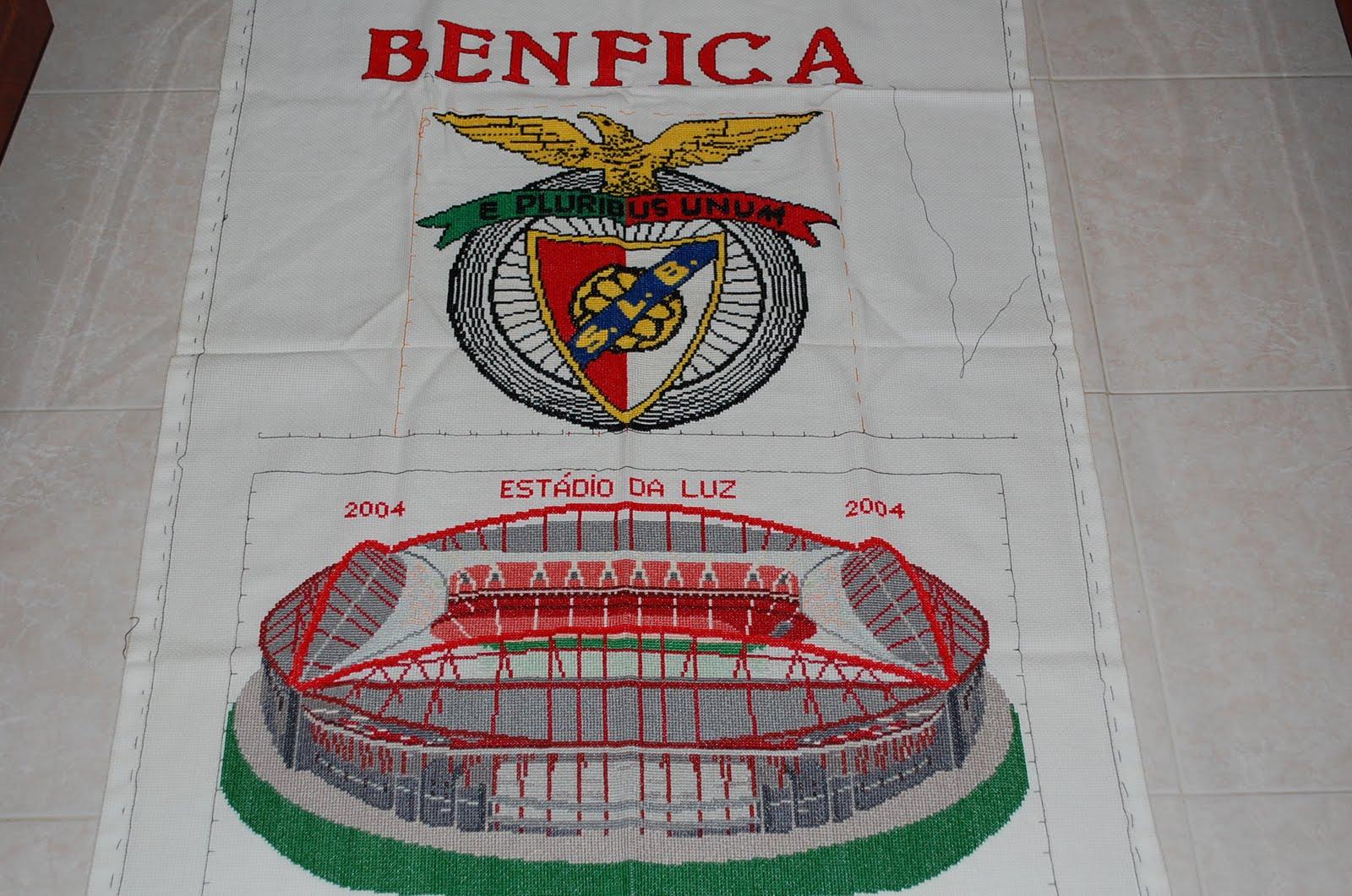 Pano Em Ponto Cruz Benfica