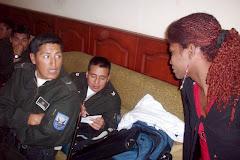 Transgéneros y Policías en Riobamba