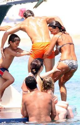 Cristiano Ronaldo Holidays 4
