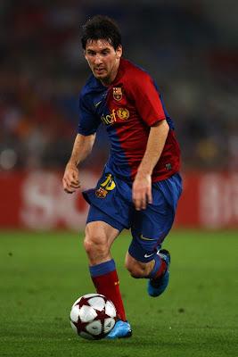 Lionel Messi Barcelona 5