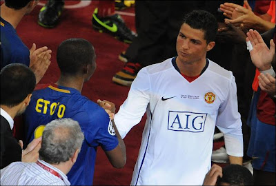 Cristiano Ronaldo, Manchester United, Portugal, Transfer to Real Madrid, Pictures, Eto'o