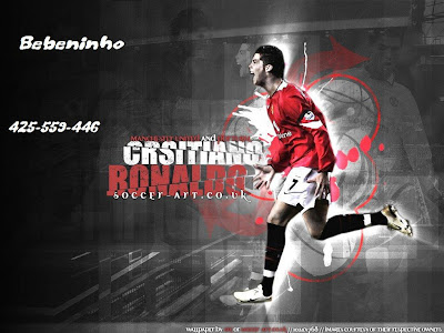 Cristiano Ronaldo-Ronaldo-CR7-Manchester United-Portugal-Transfer to Real Madrid-Posters 2