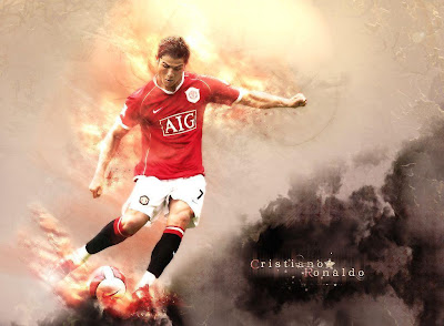 Cristiano Ronaldo-Ronaldo-CR7-Manchester United-Portugal-Transfer to Real Madrid-Posters 1