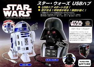 Darth Vade & R2D2 USB Hub