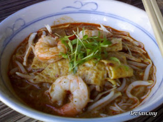 Sarawak Laksa (Rocket Cafe)
