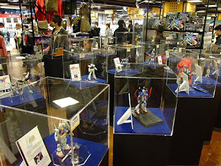 Gundam Shop (Tokyo) Display