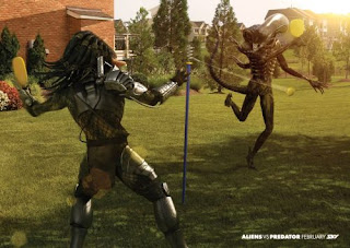 Alien vs. Predator (Swingball)