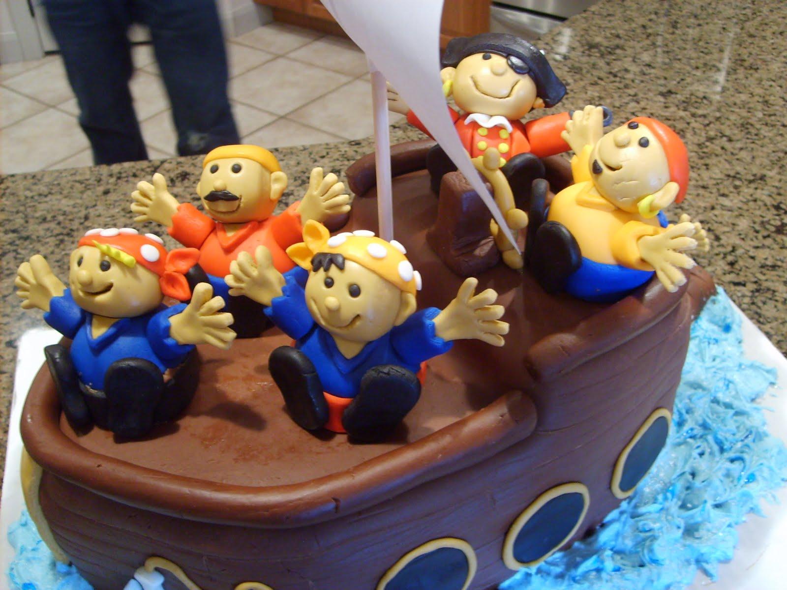 Pirate Birthday Cake Tesco