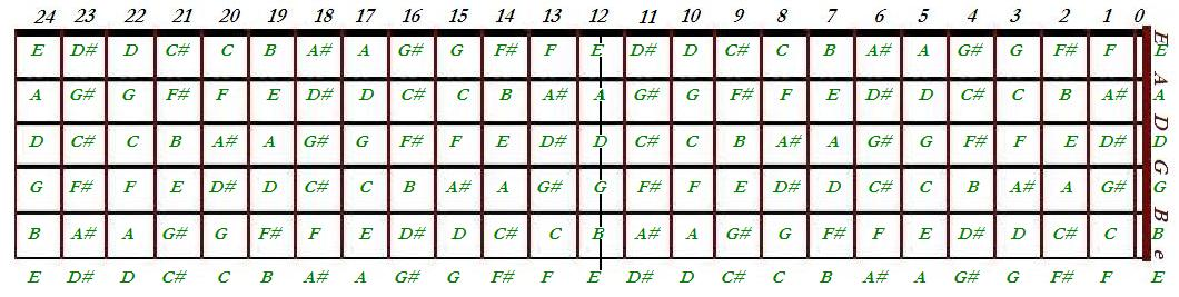 Guitar guitar chords in order : Guitar note map and Guitar chords shapes | Basic Music Theroy