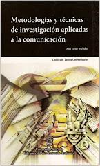 Libro: Metodologías y técnicas de investigación aplicadas a la comunicación