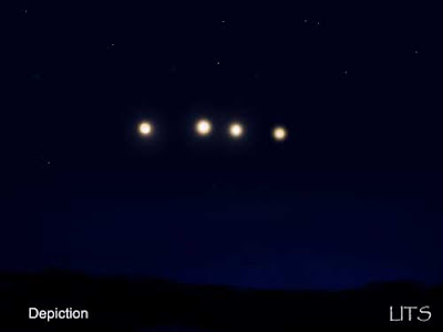 Strange Lights in Sky - Colorado Aprillights