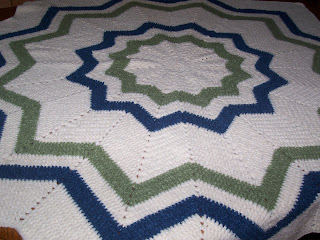 Six point star afghan crochet pattern? | - Crochet baby patterns