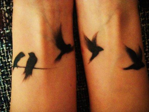 Elsker fugle og alt hvad de repræsenterer hvorfor ikke forevige det