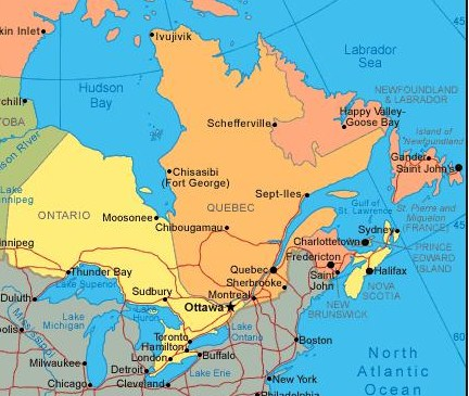 map of canada east coast map of canada east coast map map of canada east coast map of canada east coast map