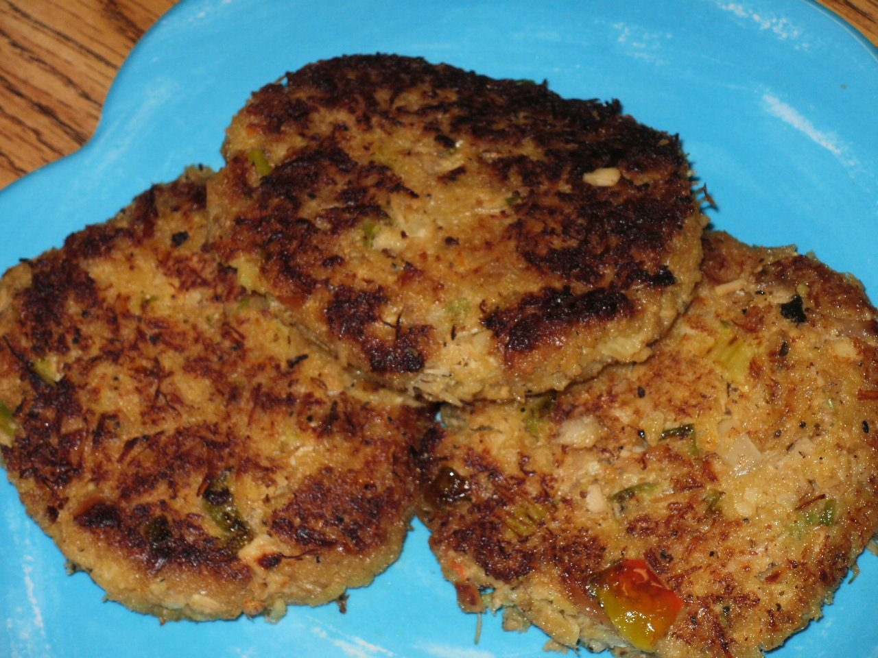 Real Life Living: Turkey Cakes With Creole Sauce