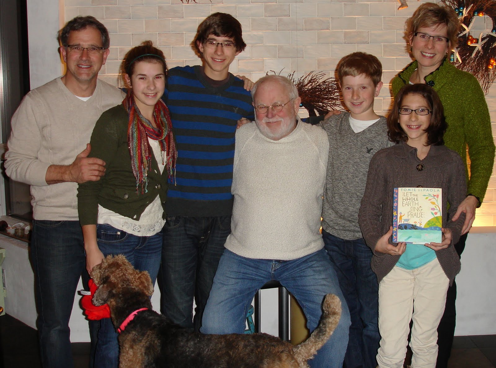 the official tomie depaola blog january 2011