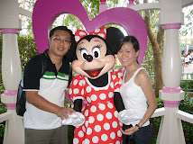 With Minnie @ HK Disneyland