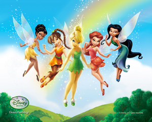 Fairy Colorful Fairies Wallpapers Graphics Animated Myspace Backgrounds Clipart Orkut Animation Windows Vista Wallpaper