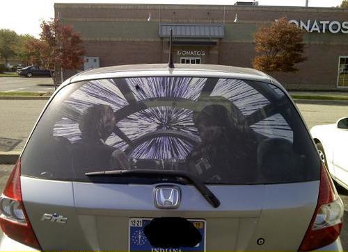 GEEKOUT Star Wars Car Window Decal - Star wars car decals