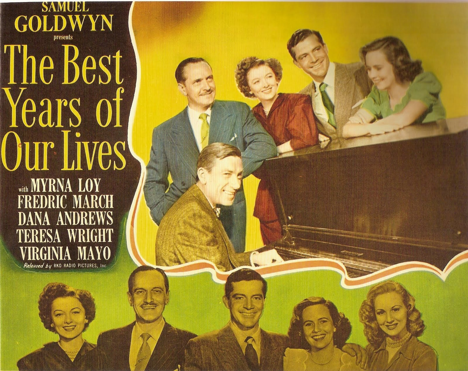 Image result for THE BEST YEARS OF OUR LIVES 1946 movie