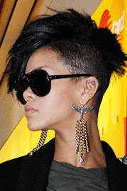 Riri haircut I ♥ it...