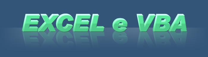 Excel e VBA