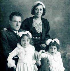 Carlota o'Neill y su familia