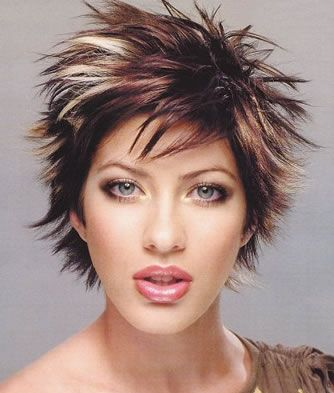 short funky hair styles for womens