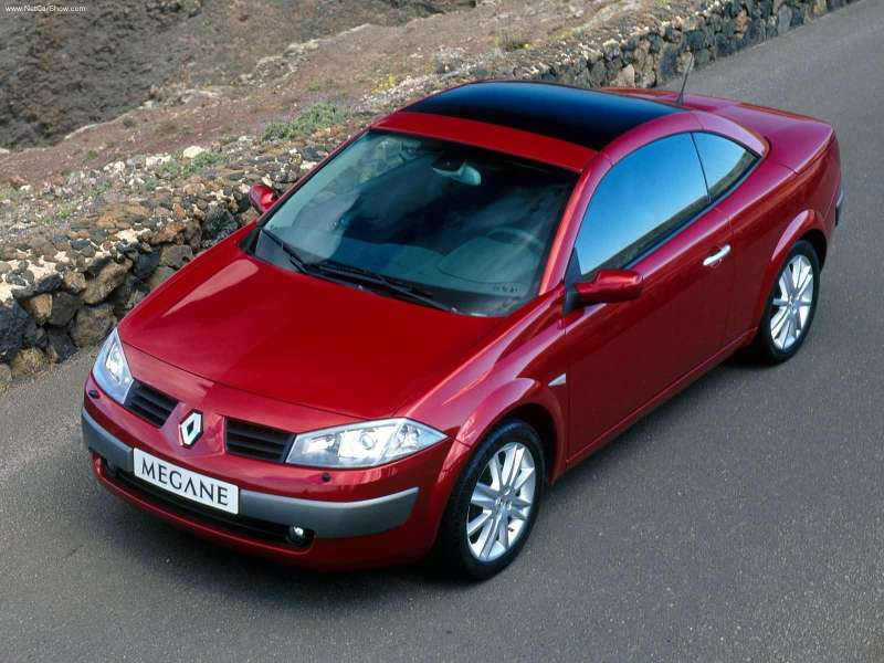2003 Renault Megane Ii Coupecabriolet 1.6 Privilege Version. Renault Megane II