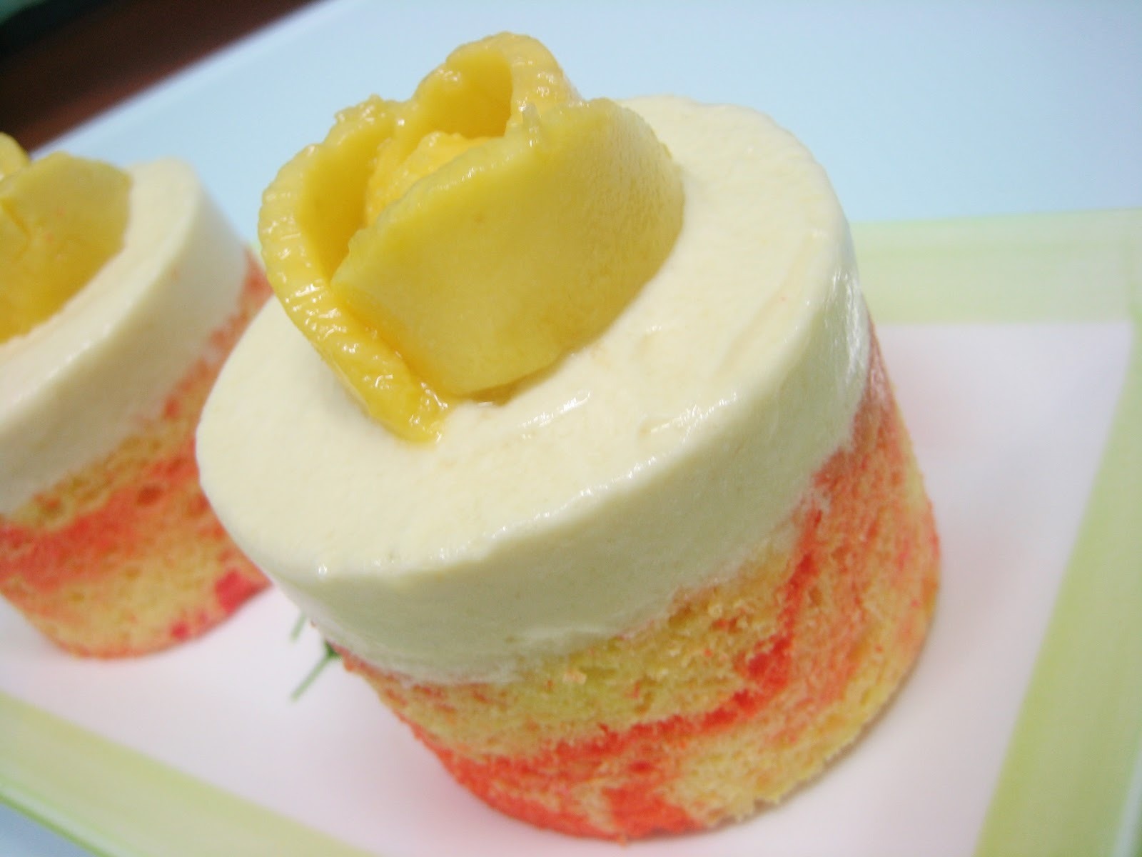 Images For Mango Cake : AMBITIOUS BUBBLE: Mango Mousse Cake