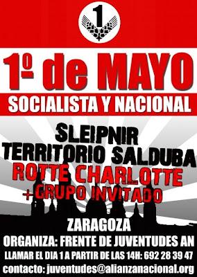 1 mayo fiesta nacional: