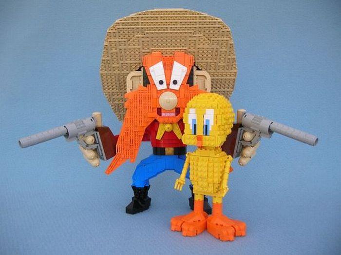Creative lego Sculptures - 50 Pics