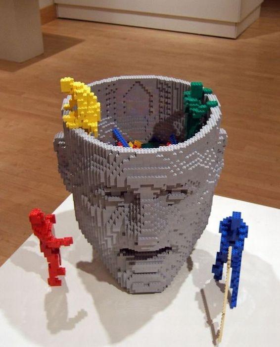 Diary Addict: Hardwork Lego Creation