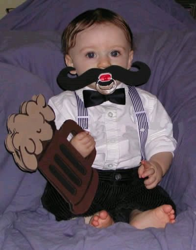 Homemade Halloween Costumes  Babies on Baby Costumes For Halloween   42 Pics   Curious  Funny Photos
