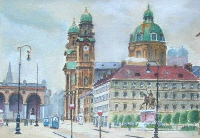 Adolf Hitler Paintings Those Rejected by Viennese academy of Fine Arts Seen On www.coolpicturegallery.us